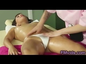 Gorgeous girls play with pussies