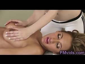 Awesome pussy massage
